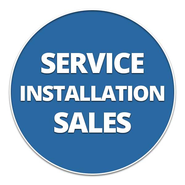 Service, Installation and Sales